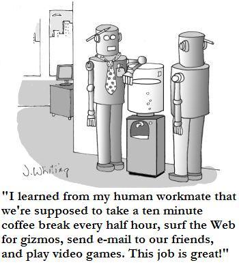 workrobotcartoon